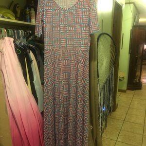 Lalaroe maxi dress